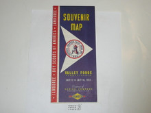 1957 National Jamboree Souvenir Map