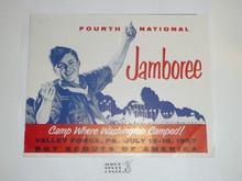 1957 National Jamboree Promotional Brochure #2