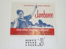 1957 National Jamboree Promotional Brochure