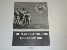 1953 National Jamboree Pre-Jamboree Training Course Outline