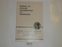 1950 National Jamboree Manual of Policies, Organization and Promotion #2