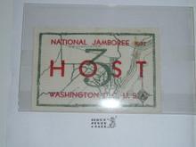 1937 National Jamboree Region 3 Host Patch