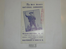 1935 National Jamboree Promotional Pamphlet, 22 Pages