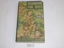 1948 Boy Scout Handbook, Fifth Edition, First Printing, Don Ross Cover Artwork, some cover fade and wear, eight stars on last page
