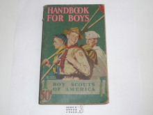 1944 Boy Scout Handbook, Fourth Edition, Thirty-seventh Printing, Norman Rockwell Cover, lt wear overall