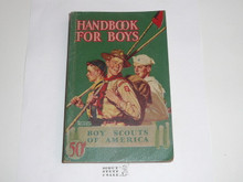 1943 Boy Scout Handbook, Fourth Edition, Thirty-sixth Printing, Norman Rockwell Cover, MINT condition, distributed by American News Co. #2