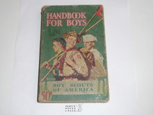 1943 Boy Scout Handbook, Fourth Edition, Thirty-sixth Printing, Norman Rockwell Cover, cover and spine show some wear, Distributed by American News
