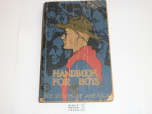 1940 Boy Scout Handbook, Third Edition, Thirty-second Printing, Norman Rockwell Cover, used with some cover and spine wear, solid spine and contents