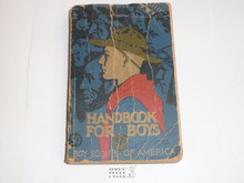 1940 Boy Scout Handbook, Third Edition, Thirty-second Printing, Norman Rockwell Cover, used with cover and spine wear, distributed by American News Co.