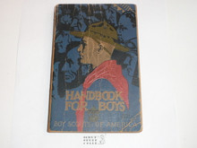 1936 Boy Scout Handbook, Third Edition, Twenty-third Printing, Norman Rockwell Cover, lt use with cover and edge wear #2