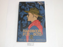 "1936 Boy Scout Handbook, Third Edition, Twenty-fifth Printing, Norman Rockwell Cover, MINT condition, first printing with ""50c"" on the cover"