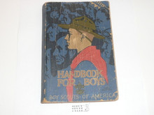 1935 Boy Scout Handbook, Third Edition, Twenty-first Printing, Norman Rockwell Cover, covers show wear but book is solid #2