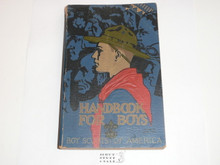1934 Boy Scout Handbook, Third Edition, Twentieth Printing, Norman Rockwell Cover, Near MINT condition with a little edge wear and a small cover crease