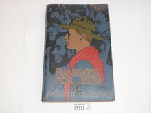 1933 Boy Scout Handbook, Third Edition, Eighteenth Printing, Pebbled cover, Norman Rockwell Cover, lt use with some edge wear