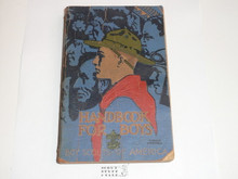 1932 Boy Scout Handbook, Third Edition, Sixteenth Printing, Norman Rockwell Cover, lt use with a little edge wear and creasing