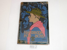 1930's Boy Scout Handbook, Third Edition, Printing unknown because title page is missing, Norman Rockwell Cover, MINT condition copy but tape was put around edges and spine