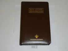 1998 Boy Scout Handbook, Eleventh Edition, First Printing, RARE Leather binding non-numbered, MINT condition