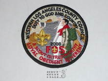 Western Los Angeles County Council 2006 FOS Council Patch (CP)