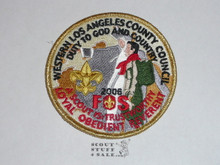 Western Los Angeles County Council 2006 FOS Council Patch (CP), PRESENTER