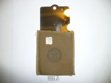 1970's Boy Scout Pocket Signal Mirror in Case