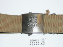 1950's Boy Scout Friction Belt and Buckle