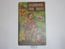 1948 Boy Scout Handbook, Fifth Edition, First Printing, Don Ross Cover Artwork, near MINT condition, eight stars on last page