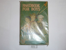 1942 Boy Scout Handbook, Fourth Edition, Thirty-fifth Printing, Norman Rockwell Cover, some cover wear but very good condition
