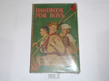 1940 Boy Scout Handbook, Fourth Edition, Thirty-third Printing, Norman Rockwell Cover, edge wear but very good condition