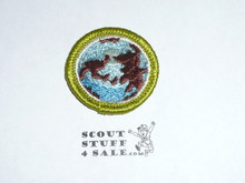 World Brotherhood (no hand)- Type G - Fully Embroidered Cloth Back Merit Badge (1961-1971)