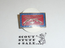 Naish Scout Reservation Mountain Man Outpost 1980's Pin