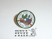Salmen Scout Reservation 1980's Winter Camp Pin