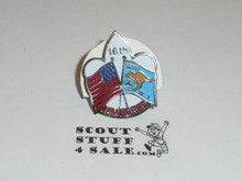 1987/1988 World Jamboree USA Contingent Pin