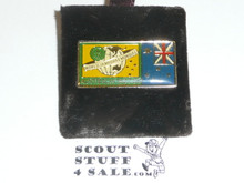 1987/1988 World Jamboree Foreign Flag Pin #2
