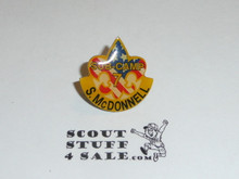 2001 National Jamboree Subcamp 7 Pin