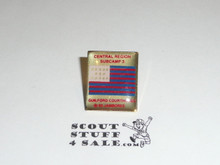 1993 National Jamboree Subcamp 3, Central Region Pin