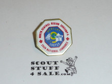 1989 National Jamboree South Central Region Subcamp 6 Pin