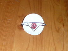 Old OA National Logo Neckerchief Pin - Scout