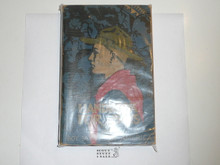 1938 Boy Scout Handbook, Third Edition, Thirtieth Printing, Norman Rockwell Cover, lt cover and spine wear and name written on face