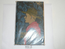 "1936 Boy Scout Handbook, Third Edition, Twenty-fifth Printing, Norman Rockwell Cover, lt use with cover and edge wear, first printing with ""50c"" on the cover"