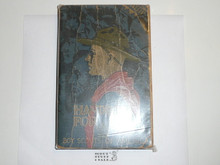 1935 Boy Scout Handbook, Third Edition, Twenty-first Printing, Norman Rockwell Cover, covers show wear but book is solid