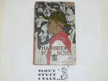 1935 Boy Scout Handbook, Third Edition, Rare 25th Anniversary Commemorative Printing, Silver Cover, 21st Printing, March 1935, Some Chipping and Wear to Cover and Spine, #2