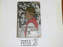 1935 Boy Scout Handbook, Third Edition, Rare 25th Anniversary Commemorative Printing, Silver Cover, 21st Printing, March 1935, Some Chipping and Wear to Cover and Spine