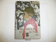 1935 Boy Scout Handbook, Third Edition, Rare 25th Anniversary Commemorative Printing, Silver Cover, 21st Printing, March 1935, Presented by E. Urner Goodman and signed by him, light spine wear