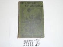 1915 Boy Scout Handbook, Second Edition, Hardbound, Title Page Missing, Some Loose Pages, Good Reading Copy