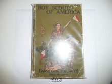 1926 Boy Scout Handbook, Second Edition, Thirty-fifth Printing, minimal spine and cover wear