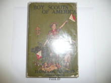 1925 Boy Scout Handbook, Second Edition, Thirty-third Printing, little spine or cover wear