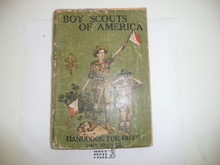1923 Boy Scout Handbook, Second Edition, Twenty-eighth Printing, some spine wear and light cover wear