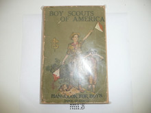 1922 Boy Scout Handbook, Second Edition, Twenty-sixth Printing, some spine wear