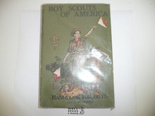 1923 Boy Scout Handbook, Second Edition, Twenty-seventh Printing, near MINT