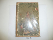 1921 Boy Scout Handbook, Second Edition, Twenty-forth Printing, spine and cover wear